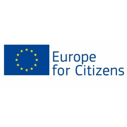 "Logo Unii Europejskiej ""Europe for Citizens"""